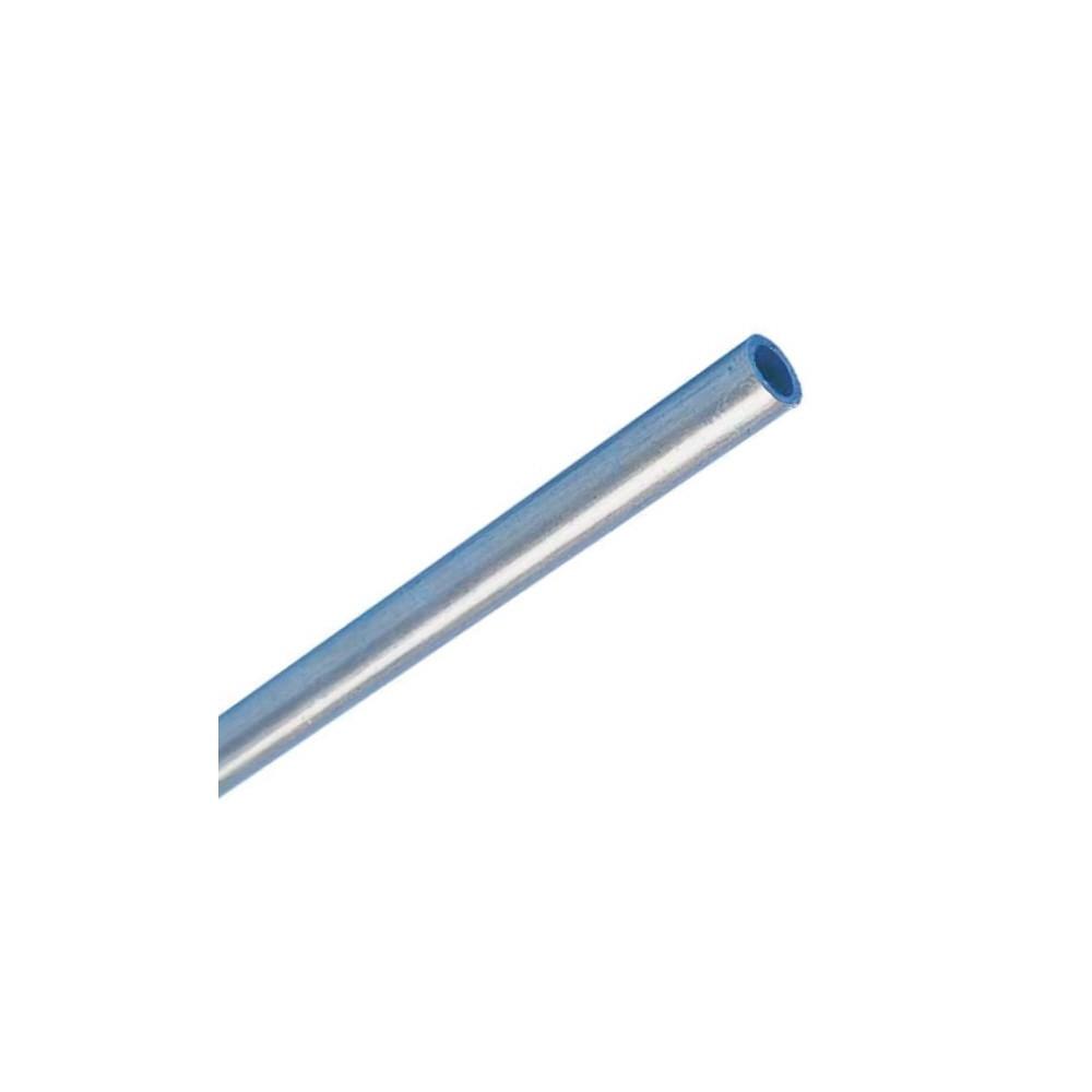 Tuyau de gaz ø8mm en acier, 8x1mm 1,5m, DIN 2393