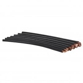 Câble de treuil 50mm² en cuivre au mètre, noir