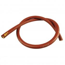 Câble de treuil 50mm² en cuivre au mètre, rouge
