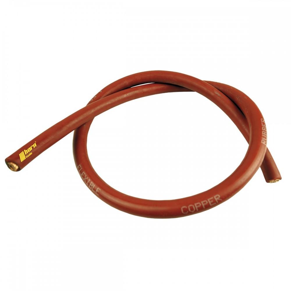 Seilwinden Kabel 50mm² Meterware Kupferkabel, rot