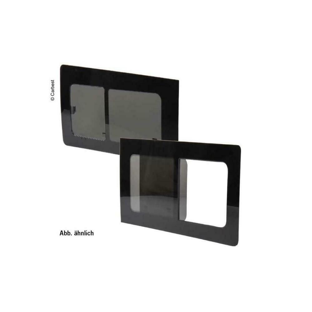 Glasschiebefenster getönt Fiat Ducato ab Bj. 07, 1360x655, Mitte links, Carbest Fenster