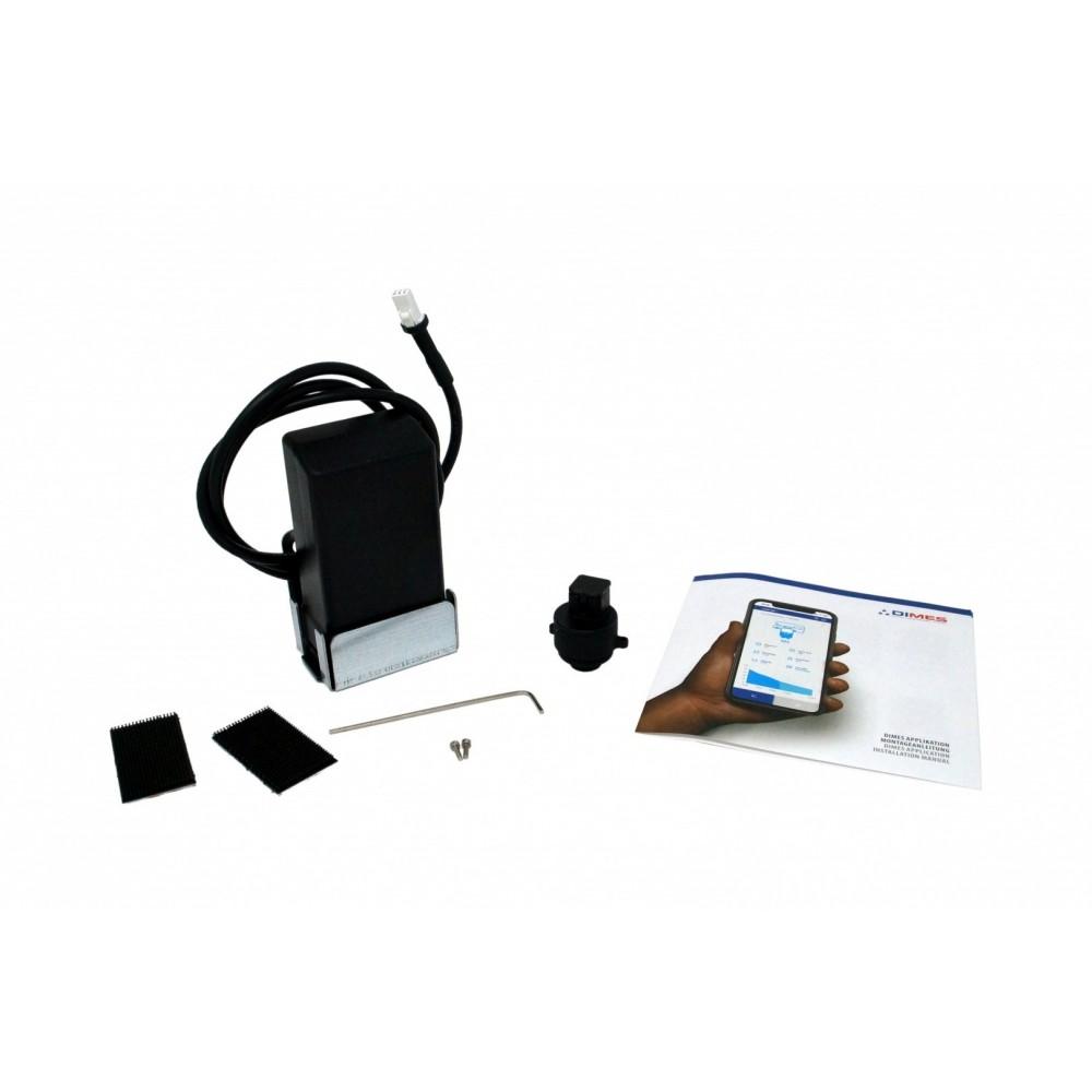 Rotarex WAVE Bluetooth Dimes Fernanzeige Gas-Füllstand für Tankflaschen mit Multiventil