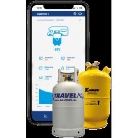 DIMES Rotarex WAVE Indicateur de niveau à distance Bluetooth pour les réservoirs à gaz multisoupapes