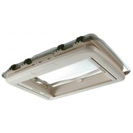 Rooflight Dometic Midi Heki Style 700 x 500 mm white Seitz