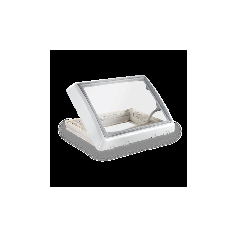 Dachhaube Dometic Midi Heki Style 700 x 500 mm Rooflight weiß Seitz