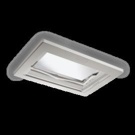 Dôme de toit Dometic Midi Heki Style 700 x 500 mm Rooflight blanc Seitz