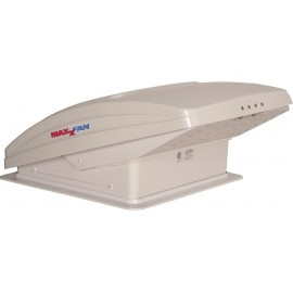 Dachhaube mit Raincover Dachventilator MaxxFan Deluxe White