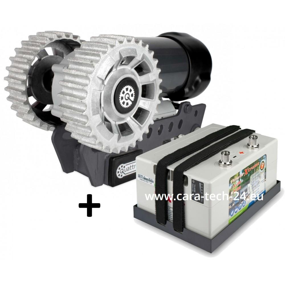 Quattro Rhodium kit: Mover incl. X30 - purple line + powerXtreme LiFePO4