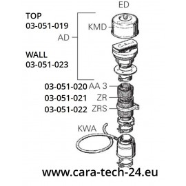 Chauffage Truma - Combi 4 E CP plus 12V, chauffe-eau 30mbar