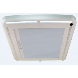 MaxxShade blackout blind for MaxxFan Deluxe with LED lighting