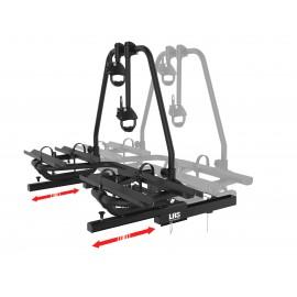 ENDURO Bicycle carrier, gliding Drawbar carrier BC260 black