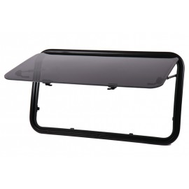 Ausstellfenster Aluminium-Rahmen Acrylverglasung Carbest RW Van Kastenwagen Reisemobilfenster