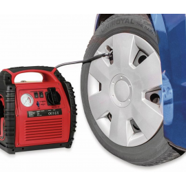 Power Pack 400A 5-in-1 Booster and Compressor for Motorhomes, Cars, Caravans