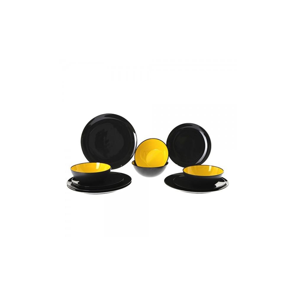 Gimex melamine tableware | Grey Line product line - Yellow