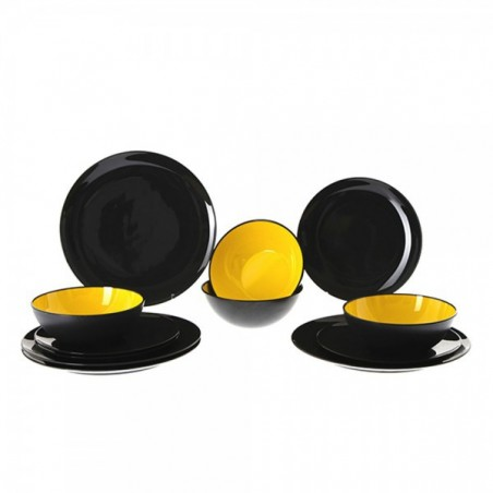 Gimex melamine tableware | Grey Line product line - Yellow