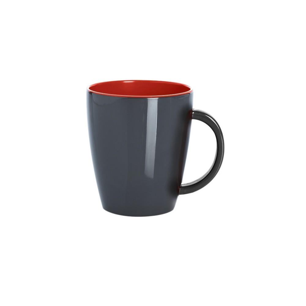 Henkelbecher / Grey Line - Rot