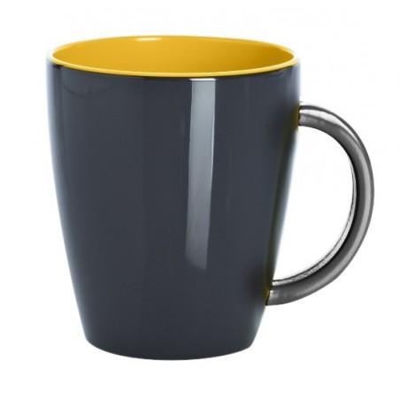 Mug Grey Line - Jaune