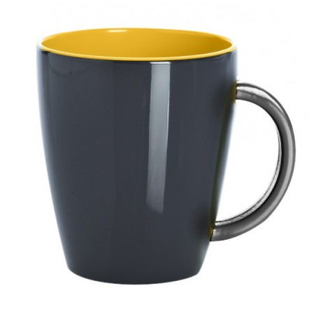 Mug / Grey Line Yellow