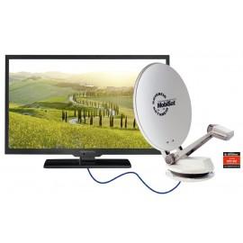 alphatronics LED-Fernseher SL-DSB K Kathrein