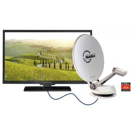 alphatronics LED-Fernseher SL-Linie DSB+ K Camping TV
