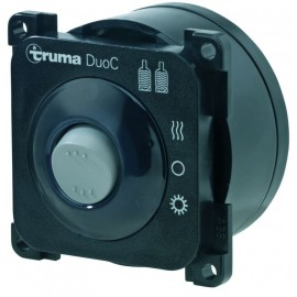 Téléaffichage DuoC Truma avec câble pour DuoControl CS (noir)