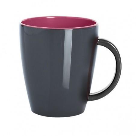 Mug / Grey Line - Blackberry