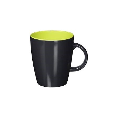 Mug Grey Line - lime (citron vert)