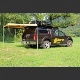 Awning Eaglewing 200cm x 200cm sand-coloured Offroad Foxwing canopy
