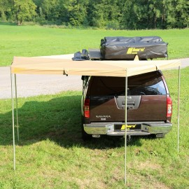 Markise Eaglewing 2,0x2,0m sandfarben Offroad Vordach Foxwing horntools