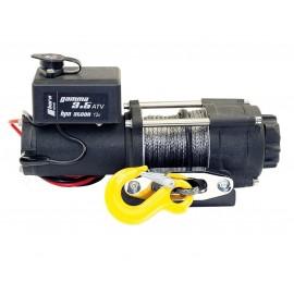 Treuil à câble 1,6 t Gamma 3,5 - 12V treuil électrique avec corde en plastique horntools