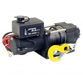 horntools - rope winch 1,6 t Gamma 3.5 ATV 12V plastic rope electric winch