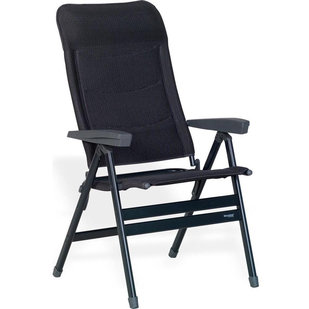 Folding armchair extra wide - High back, Westfield Advancer XL AG DL - black