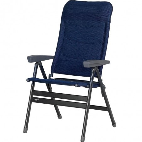 Folding armchair extra wide - High back, Westfield Advancer XL AG DL - blue