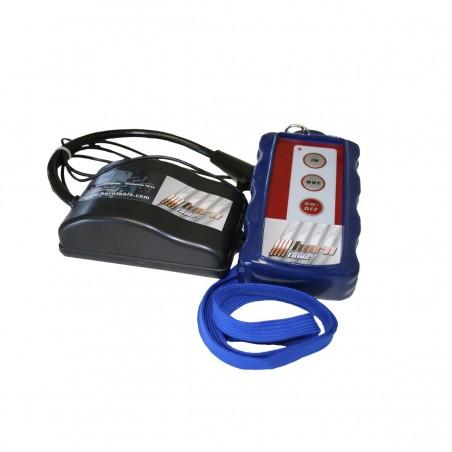 Télécommande radio bleu, treuil à câble électrique 12V horntools