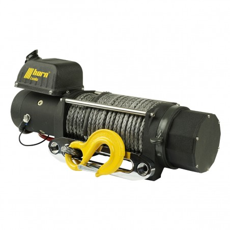 Cable winch 3.6 t Delta 8.0 ATV 12V plastic cable horn tools electric winch