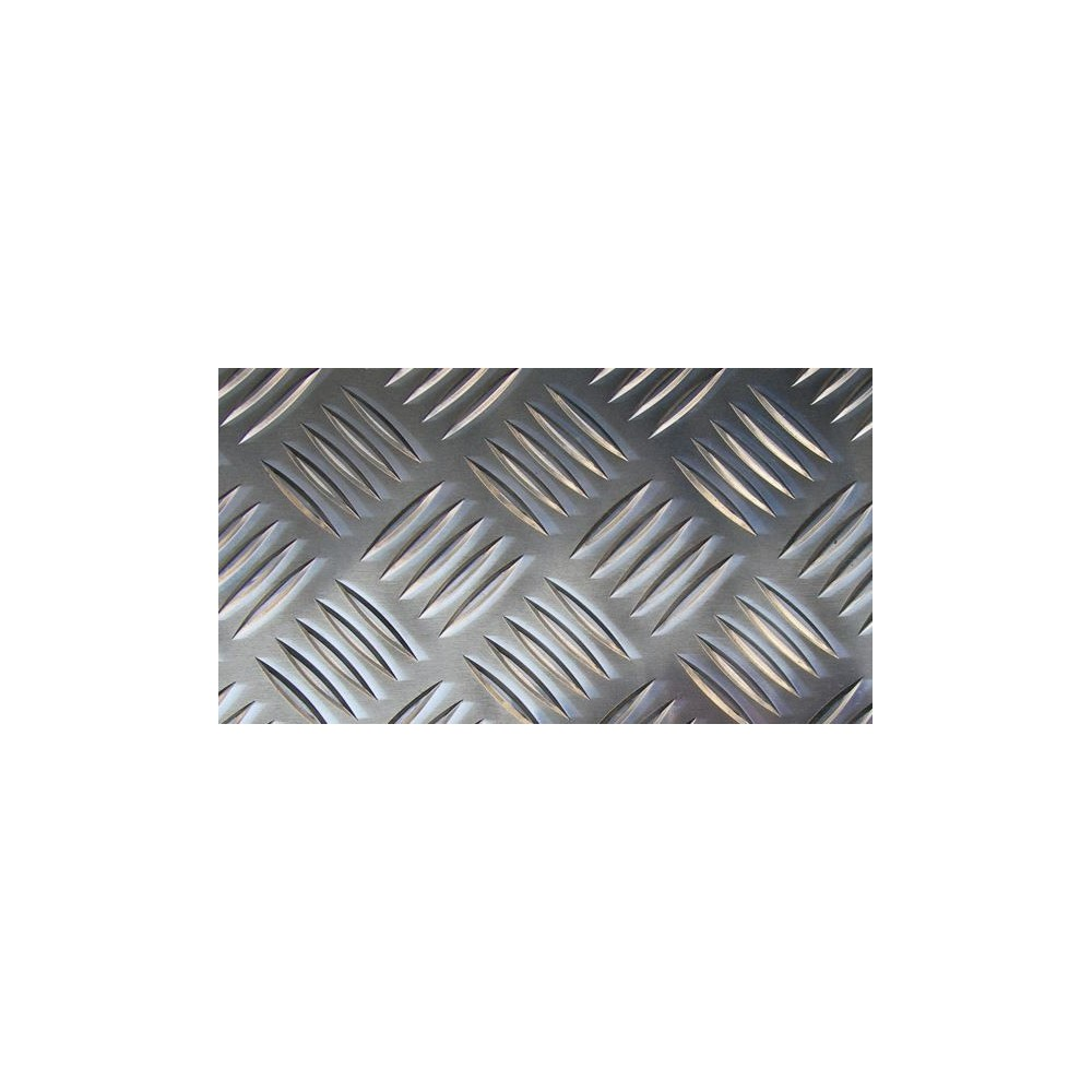 checker plates - AlMg3, quintet, 2,5 / 4,0 (aluminium)