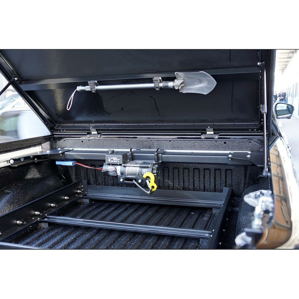 Système de treuil arrière Mercedes classe X 80m, haute vitesse, zone de chargement du pick-up