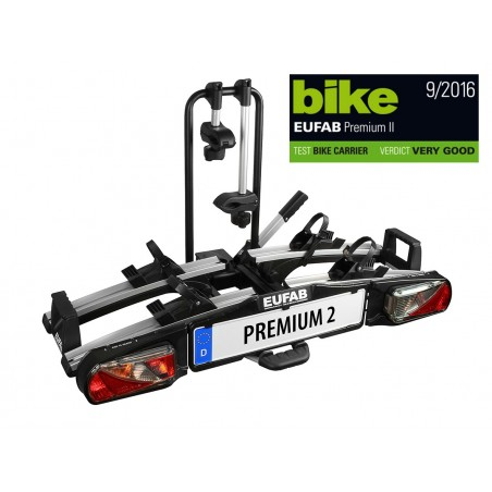 EUFAB Bike carrier PREMIUM II Clutch carrier
