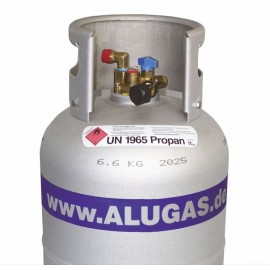 Alugas - 11kg (27 Litres) Refillable Alu Gas Cylinder TRAVELmate