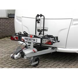 Aufnahme (Adapter) für Fahrradträger auf der Deichsel, Umbau-Set