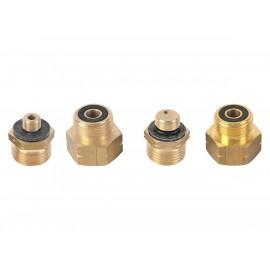 Euro-Set Adapter 1, 2, 3, 4 (Gasflaschen Adapter) Entnahmestutzen