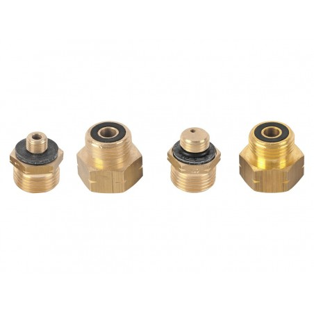 Euro set Adapter 1, 2, 3, 4 (gas cylinder adapter) Withdrawal nozzle