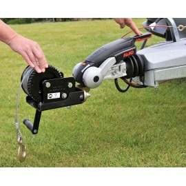 Mobile winch cara-TREK 700 0,7t Caravan cable winch Trailer winch