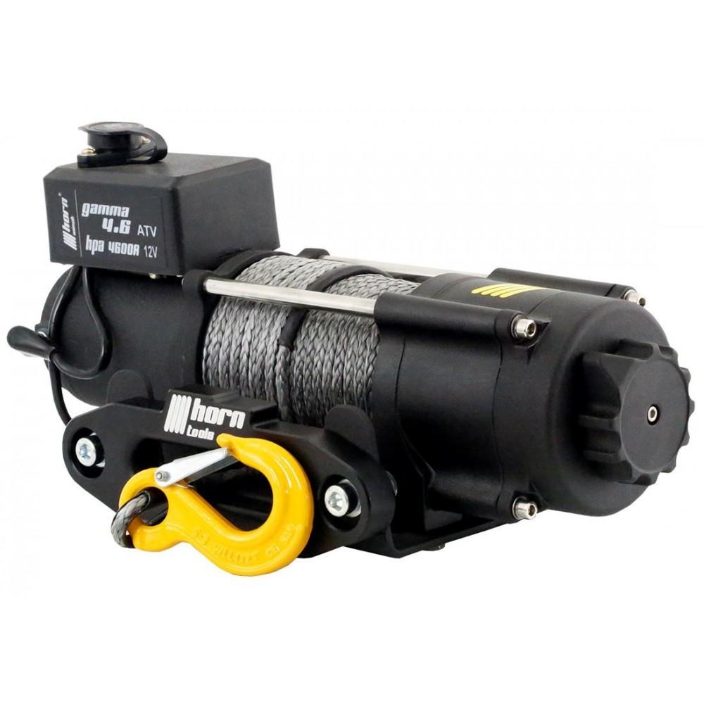 Seilwinde 2,0 t Gamma 4.6 ATV 12V Kunststoffseil