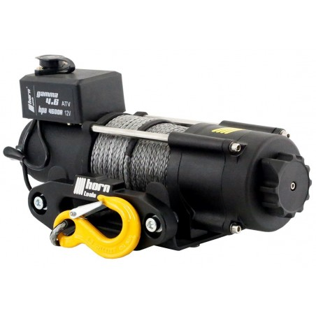 Cable winch 2,0 t Gamma 4.6 ATV 12V plastic cable horntools
