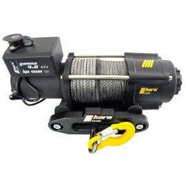 Cable winch 2,0 t Gamma 4.6 ATV 12V plastic cable horntools