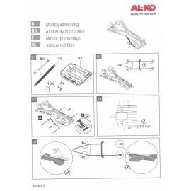 AL-KO big foot™ semelle - jeu de plaques d'appui