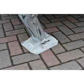 ALKO big foot™ Abstützfuß - Stützplattenset ausgefahren