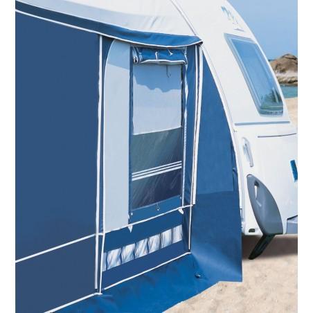 Aeropaket Vorzelt von Herzog für aerodynamische Wohnwagen