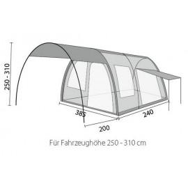 Herzog - Wohnmobil Vorzelt GLOBUS Air Sketch